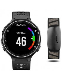 Garmin Forerunner® 230 (GPS, Black & White Bundle)