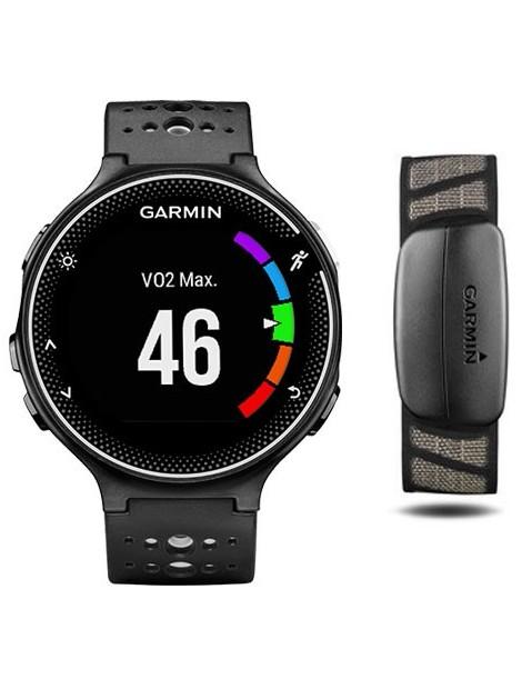 Garmin Forerunner® 230 (GPS, Black & White Bundle)
