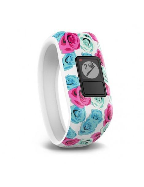 Garmin vivofit jr, Real Flower детский браслет для Спортивные часыа