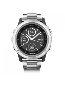 Garmin fenix 3 HR, Glass & Titanium, Silver