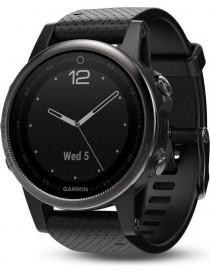 Garmin fenix 5S Sapphire - Slate grey with black band
