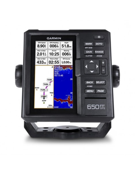 Эхолот-картплоттер Garmin FF 650 GPS