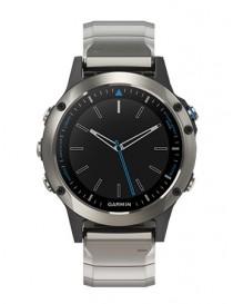 Умные часы с GPS Garmin quatix 5 Сапфировое стекло. Металлический ремешок+ силиконовый