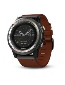 Авиационные GPS-часы Garmin D2 Charlie сапфировое стекло, кожаный ремешок