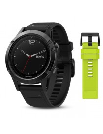 Garmin fenix 5 Sapphire - Performer Bundle - Black with black band