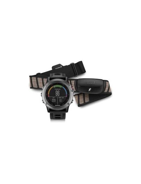 Портативный навигатор Garmin fenix® 3, Gray Performer Bundle