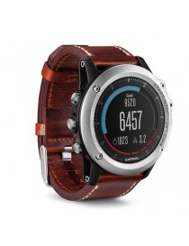 Портативный навигатор Garmin fenix® 3,Sapphire, Silver with Leather Band, Performer Bundle