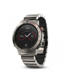 Garmin fenix Chronos -Titanium with Brushed Titanium Hybrid Watch Band