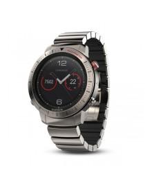 Garmin fenix Chronos -Titanium with Brushed Titanium Hybrid Watch Band