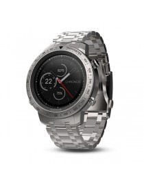 Garmin fenix Chronos - Steel with Brushed Stainless Steel Watch Band