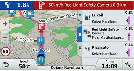 Предупреждения для водителей: информация об окружающей обстановке