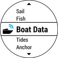 Часы quatix 3. Морские данные