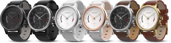 Серия классических часов со встроенным трекером активности Garmin vivomove