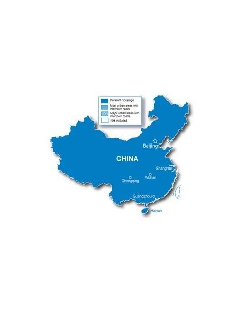 Карта Китая Garmin City Navigator China