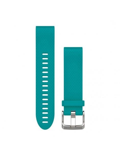 Ремешок для часов Garmin fenix 5s 20mm QuickFit Turquoise Silicone Band