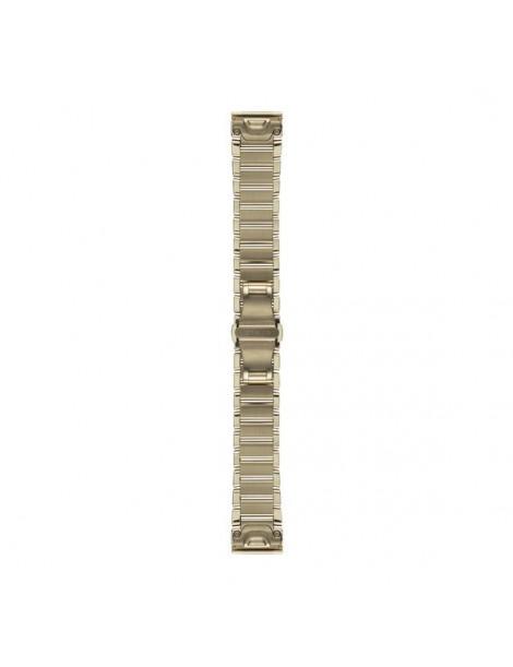 Ремешок для часов Garmin fenix 5s 20mm QuickFit Champagne Stainless Steel Band