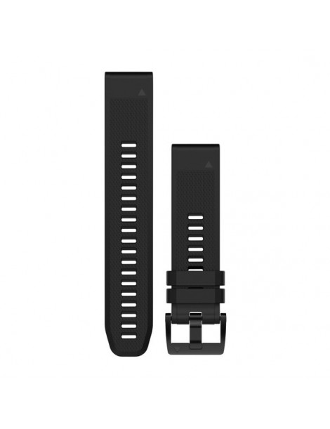 Ремешок для часов Garmin fenix 5 22mm QuickFit Black Silicone Band