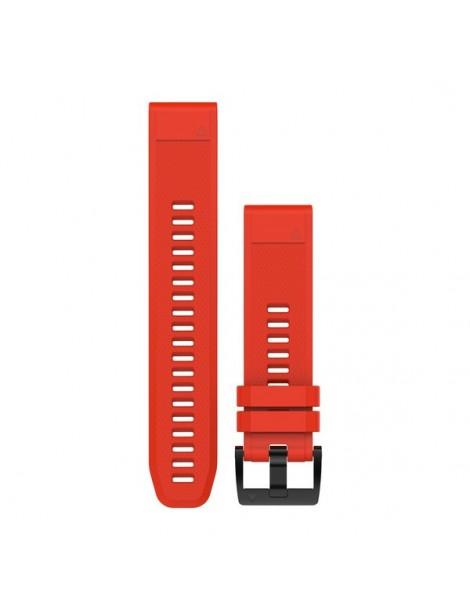 Ремешок для часов Garmin fenix 5 22mm QuickFit Flame Red Silicone Band