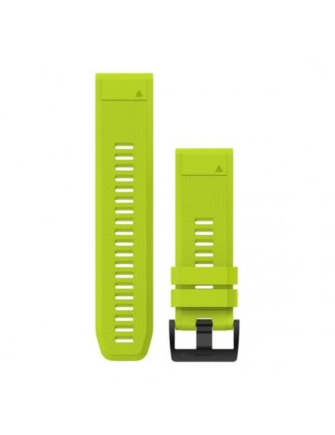 Ремешок для часов Garmin fenix 5x 26mm QuickFit Amp Yellow Silicone Band