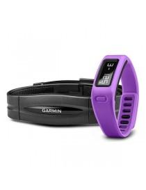 Браслет для фитнеса Garmin vivofit Purple HRM Bundle
