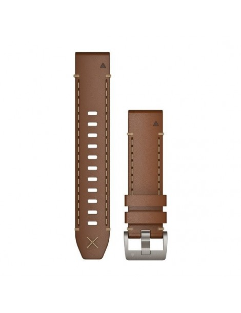 Ремешок для часов Garmin MARQ Italian Vacchetta Leather Strap