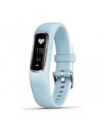 Garmin vivosmart 4, Azure Blue with Silver Hardware