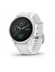 Garmin fenix 6S - Silver with White Band