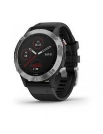 Garmin fenix 6 - Silver with Black Band