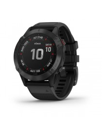 Garmin fenix 6 PRO - Black with Black Band