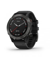 Garmin fenix 6 SAPPHIRE - Carbon Gray DLC with Black Band