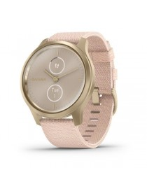 Garmin vivomove Style, Champagne-Dust Rose, Fabric