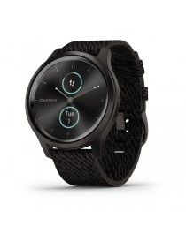 Garmin vivomove Style, Gunmetal-Dark Gray, Fabric