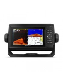 "Garmin ECHOMAP Plus 62cv - 6"" эхолот-картплоттер с CHIRP, ClearVu и WiFi"