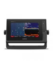 """Garmin GPSMap 722 XS - 7"""" эхолот-картплоттер с сенсорным дисплеем, датчиком GT24 xdcr (CHIRP, ClearVu) и WiFi"""
