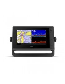 """Garmin GPSMAP 722xs Plus - 7"""" эхолот-картплоттер с сенсорным дисплеем, датчиком GT24 xdcr (CHIRP, ClearVu) и WiFi"""