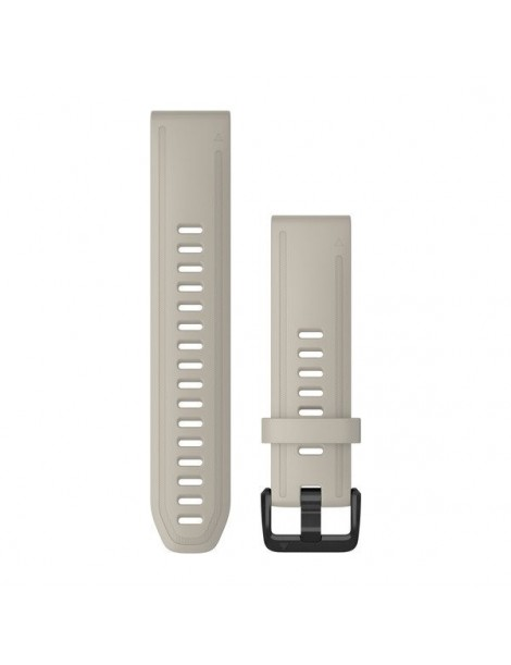 Ремешок для часов Garmin fenix 5s/5s plus/6s QuickFit® 20mm Light Sand Silicone