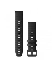 Ремешок для часов Garmin fenix 5/5 plus/6 QuickFit® 22mm Black Silicone