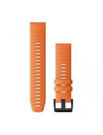Ремешок для часов Garmin fenix 5/5 plus/6 QuickFit® 22mm Ember Orange Silicone