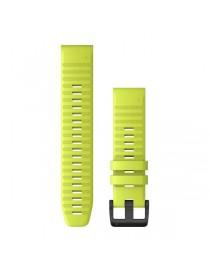 Ремешок для часов Garmin fenix 5/5 plus/6 QuickFit® 22mm Amp Yellow Silicone