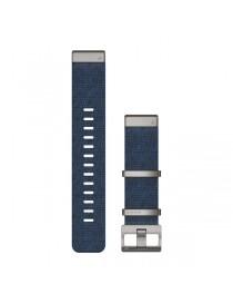 Ремешок для часов Garmin fenix 5/5 plus/6QuickFit® 22mm Jacquard-weave Nylon Strap – Indigo