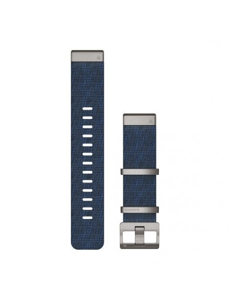 Ремешок для часов Garmin fenix 5/5 plus/6QuickFit® 22mm Jacquard-weave Nylon Strap – Indigo