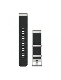 Ремешок для часов Garmin fenix 5/5 plus/6QuickFit® 22mm Jacquard-weave Nylon Strap – Black