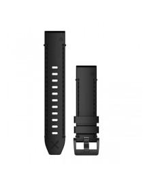 Ремешок для часов Garmin fenix 5/5 plus/6QuickFit® 22mm Genuine Horween® Leather Strap – Black