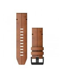 Ремешок для часов Garmin fenix 5X/5X plus/6X QuickFit® 26mm Chestnut Leather