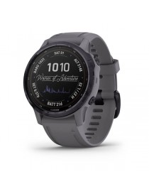 Garmin fenix 6S Pro Solar Amethyst Steel with Shale Gray Band