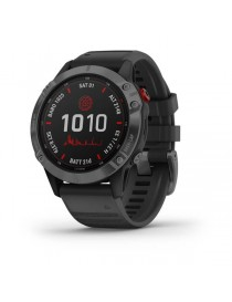 Garmin fenix 6 Pro Solar Slate Gray with Black Band