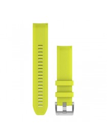 MARQ, QuickFit 22m, Amp Yellow, Silicone Strap