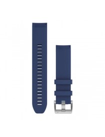 MARQ, QuickFit 22m, Navy Blue, Silicone Strap