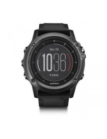 Garmin fenix 3 Sapphire HR – Gray with black silicone band