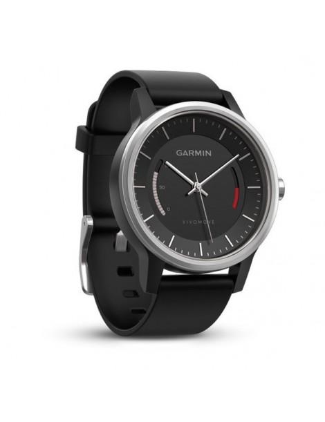 Garmin vivomove Sport, Черные со спортивным браслетом